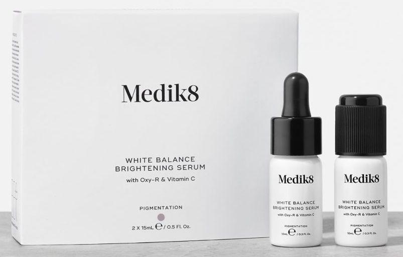 medic8 white balance serum rozjaśniające z kwasem kojowym