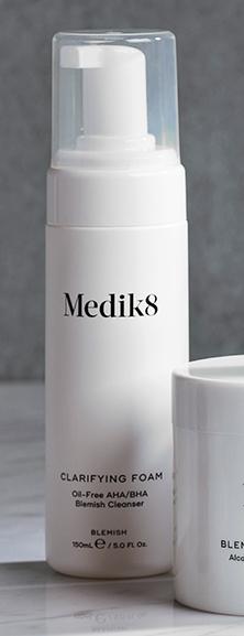 medik8 pianka oczyszczająca