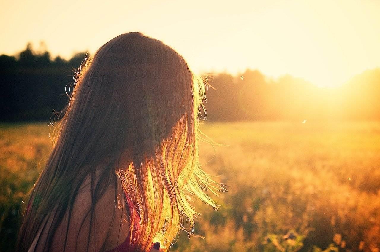 Włosy w słońcu