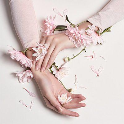 mapa ciała dłonie