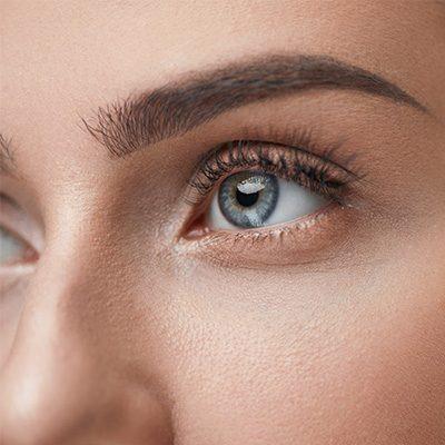 mapa ciała oczy