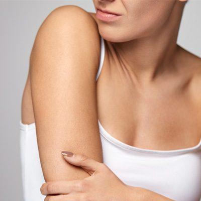 mapa ciała ramiona