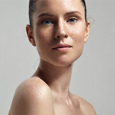mapa ciała twarz